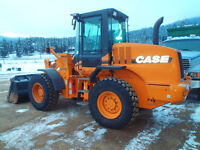 Case 521D Wheel Loader with 3 yard bucket and Quick Change