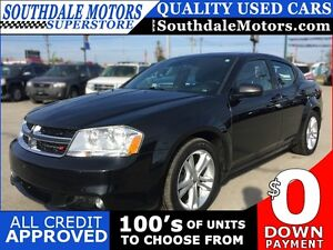 2014 DODGE AVENGER SXT * POWER GROUP * PREMIUM CLOTH SEATING London Ontario image 1