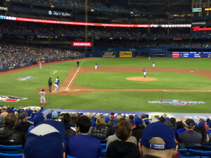 Blue Jays Tickets: Seats with the amazing view you see here!!!