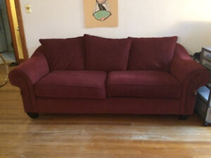 *Price Reduced* Couch and love seat - pick up only