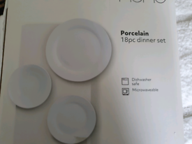 18 piece dinner set