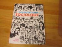 Foundations of Sociology 2014 U of C Textbook