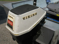 Viking 9.6 Outboard Motor - 1960's