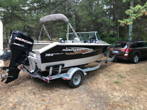 Excellent 18.5 foot 150 hp boat: Princecraft Sport 182