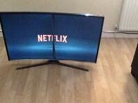 """40"""" SAMSUNG CURVED SMART LED TV"""