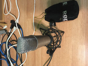 Rode NT1A condenser microphone