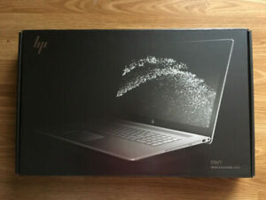 HP ENVY 17-ae100ca with warranty till FEB'20 with box like new