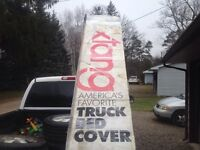 Tonneau  cover GMC stepside 4.5 ft x 6.75 ft or 54in x 81 in
