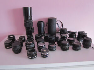 M42 Mount Manual Focus Lenses
