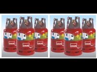 WOW X6 FULL CALOR LITE PROPANE 6KG Gas Bottle (s) only £240.00 DELIVERED