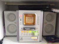 Panasonic mini disc stereo system