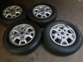 "16"" ford transit custom ford transit mk7 alloy wheels"