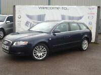 2006 AUDI A4 2.0 TDI SE TDV DIESEL ESTATE 1 OWNER 8 SERVICE STAMPS BLACK LEATHER