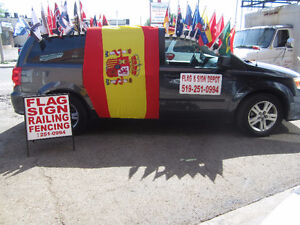 Euro Cup 2016 Car Hood Covers by Flag & Sign Depot Windsor Region Ontario image 2