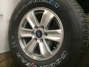 17inch F-150 rims and tires… NEW MINT