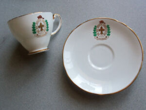 Canada Boy Scouts Association Commemorative Cup and Saucer