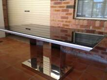 glass top dining table Fairfield Fairfield Area Preview