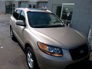 HYUNDAI  SANTA FE. 2008.  LEATHER SEATS. SUNROOF .FULL  OPTION.