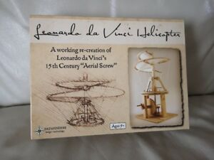 Leonardo da Vinci Helicopter Model Kit