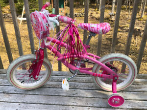 Girl's 14 inch Hello Kitty bike