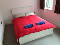 Bright Double room next to Highbury and Islington Stn