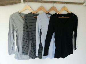 4 Size Small Gap Maternity Long Sleeve Shirts - Barely Worn