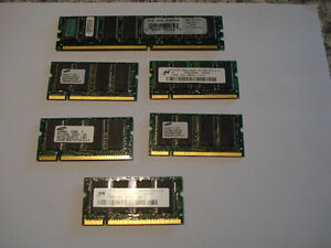 Laptop and Desktop RAM Memory Chips
