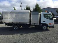 Mitsubishi Canter Fuso 3c13 lwb 3 ltr tipper/wood chipping vehicle