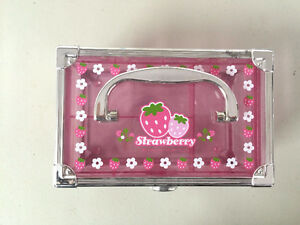 Moving sale: pink jewelery box