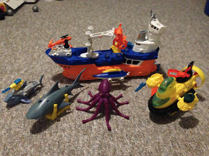 Matchbox Deep Sea Adventure set Kitchener / Waterloo Kitchener Area image 2