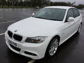 BMW 3 SERIES 320d M Sport Good / Bad Credit Car Finance (white) 2010