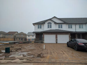 Brand New townhouse end unit for rent