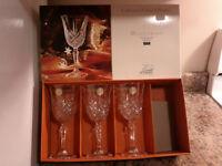 Cristal d'Arques Masquerade Goblets - New In Box
