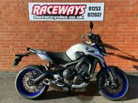 YAMAHA MT-09 STREET RALLY 2016 65 REG 7,086 MILES GREY USED MOTORCYCLE 847CC