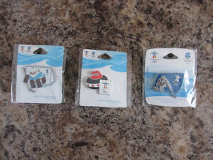 2010 Vancouver Olympic Pins