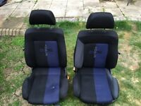 Volkswagen MK3 Golf Front Seats + matching Rear covers