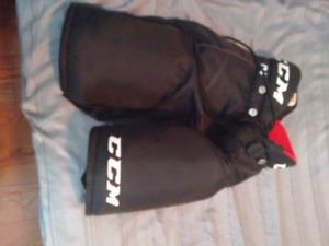Boys CCM Junior Large Hockey Pants