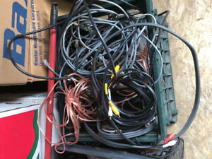 Cable Wires, Speakers Wires and Path Cords