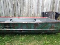 12 foot Tin boat