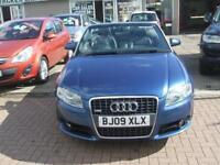 Audi A4 Manual Diesel TDI S LINE SPECIAL EDITION Blue 2009 DIESEL MANUAL 2009/09