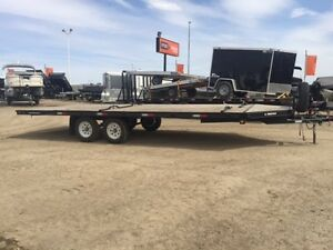 4 place snowmobile or ATV trailer