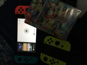 Nintendo switch en parfait etat