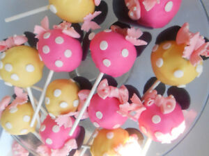 Cake pops, cupcakes, edible toppers, cookies, cakes and more!