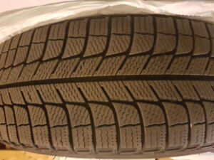 """Michelin X-Ice 17"""" Tires and Rims Set of 4 For Sale"""