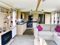 Static caravan for sale, Solent Breezes on the Solent decking incl sea views