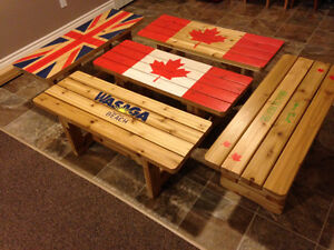 British & Canadian Bench, Western Red Cedar