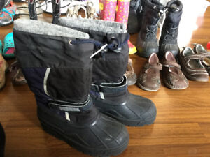 Boys Winter Boots Size 2 and Size 6 $10
