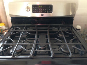 """Kenmore 30"""" gas stove"""