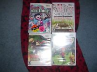 CHRISTMAS WII GAMES