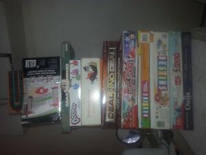 Lot de jeux société